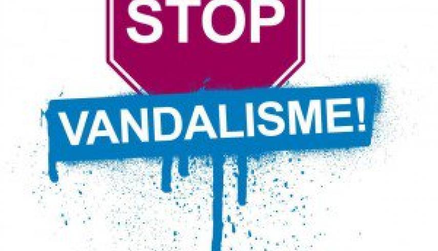 Stop vernielingen!
